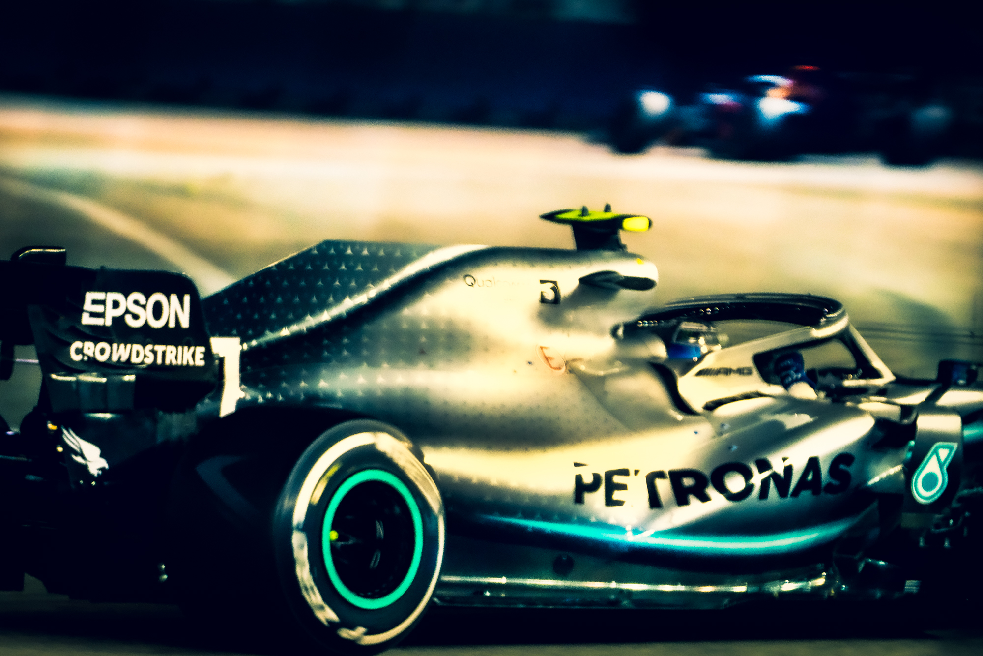 Mercedes Bottas on Redbull, Singapore 2019